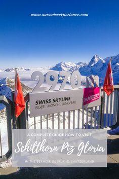 Schilthorn Piz Gloria – Visiting James Bond Zermatt, James Bond, Grindelwald, Travel With Kids, Family Travel, Der Bus, Skyline, Rafting, Nice View