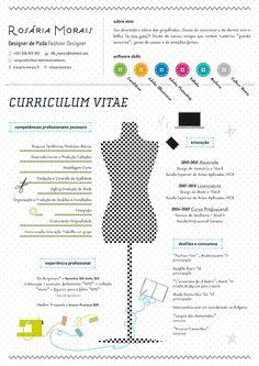 Curriculum Vitae - Rosária Morais - Fashion Designer