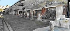 Ancient Herculaneum, (next Naples) is an ancient Roman town destroyed by volcanic pyroclastic flows in 79 C.E