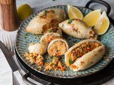 Gefüllter Couscous-Tintenfisch - leckere Grüße vom Mittelmeer