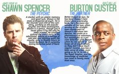 A Guide to Psych | Shawn Spencer and Burton Guster