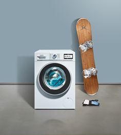 With the special #Siemens #outdoor programs, you can wash functional clothing gently. // Mit den speziellen Outdoor-Programmen von #Siemens können Sie Funktionskleidung besonders schonend #waschen. #Waschmaschine #enjoysiemens