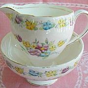Vintage Creamer and Sugar Tea Foley E. Sugar Bowls And Creamers, Bees, Brain, Pink, Beautiful, Vintage, The Brain, Vintage Comics, Pink Hair