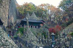 Mt. Maisan's Tapsa Temple