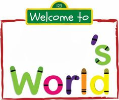 Elmo's world party just fill in the name