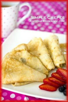 Crepe Recipe | Easy Japanese Recipes at Just One Cookbook