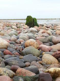 Blicksache am Strand von Dzwirzyno Polnische Ostsee