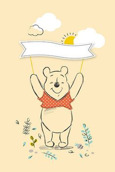 Winnie the Pooh, Pooh Bear, embroidery pattern?