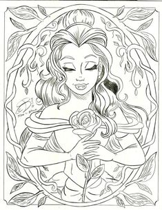 Coloring Pages ! - Make your world more colorful with printable coloring pages. Free coloring pages for adults and kids, from Star Wars to Mickey Mouse Belle Coloring Pages, Disney Coloring Sheets, Disney Princess Coloring Pages, Printable Adult Coloring Pages, Cute Coloring Pages, Cartoon Coloring Pages, Coloring Books, Kids Coloring, Coloring Pages For Adults