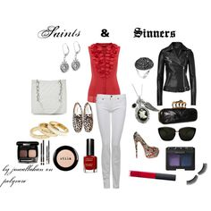 Saints & SInners, created by jmcallahan on Polyvore