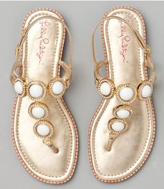 Lilly Pulitzer Set In Stone sandal