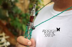 Original design by Rough Luck Shop!  So excited to present our new hemp vape collection! We created this hemp adjustable vapor holder to protect from rough handling. We always test out our new collections and with experience this holder is snug to fit and will protect your ego batteries from minor falls.  We made it unique and you may adjust to your size! This makes a great gift!  Details Cord - Hemp 20lb. thick & strong Beads - wood beads Size - Adjustable Length - 25 inches  The model…