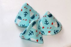 Baby Boy PeePee TeePee Blue with Sailboats and by KallieLilyS