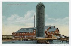 Virginia Lumber Co Mill in Virginia Minnesota 1907 Postcard