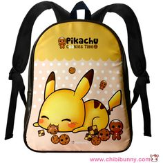 Pikachu and cookies Cute kawaii leather backpack LBP5 (1.505 RUB) ❤ liked on Polyvore featuring bags, backpacks, accessories, pokemon, genuine leather backpack, backpack, leather bags, polka dot backpack and dot backpack