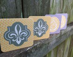 6.95 Louisiana Coaster Set