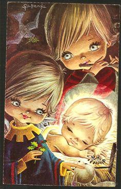 Otro dibujante y que con sus postales navideñas habremos felicitado a muchas personas. Gallardo