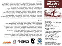 Maria Pinto: exposição Imagem e Haicai - Pinacoteca Miguel Dutr...