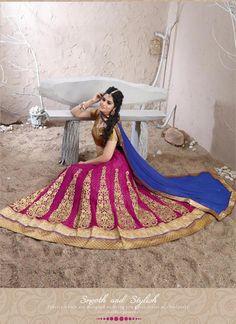 Ethnicwear Bridal Lehenga Indian Wedding Pakistani Traditional Choli Bollywood…