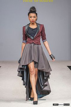Part of Melancholic Design's Fall 2013 Collection shown at Fashion Week New Orleans