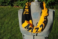 Mizzou Football Upcycled TShirt Infinity by SeasonedWithStyle, $12.00