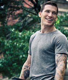 Andrew Ference, Edmonton Oilers defenseman, age 35, born in Edmonton, Alberta