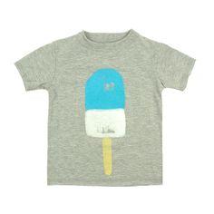 Popsicle Short Sleeve Tee - mini mioche - organic infant clothing and kids clothes - made in Canada