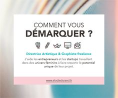 Elodie Durand - Directrice Artistique & Graphiste freelance  >>> www.elodiedurand.fr