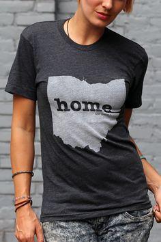 I love my shirt!! #TheHomeT. The Home. T - Ohio Home T (http://www.thehomet.com/ohio-home-t-shirt/)