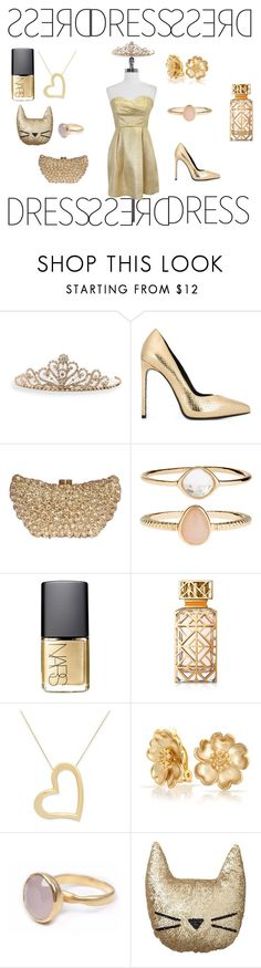 """""""Outfit #8"""" by harleyquinn49 on Polyvore featuring BillyTheTree, Yves Saint Laurent, Accessorize, NARS Cosmetics, Tory Burch, Bling Jewelry, Bohemia, PBteen, Shoshanna and awesome"""