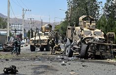 cool Explosion Targets NATO Forces Convoy Killing Foreigners, Afghan Police  http://Newafghanpress.com/?p=17188 suicide-attack-US-forces-Afghanistan