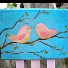 sweet painting for Sophie's room.