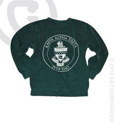 Custom Chapter Order! Kappa Alpha Theta Comfort Colors Emerald Green Classic Sweatshirt