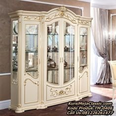 Living Room Display Cabinet, China Cabinet, Cupboard, Storage, Furniture, Home Decor, White Cottage, Houses, Dining Rooms
