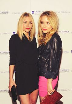 Love this hair///Mary-Kate and Ashley