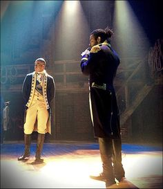 Check Out The Action and Energy in These Electrifying Unseen Pics From Hamilton! - Photo - Playbill.com
