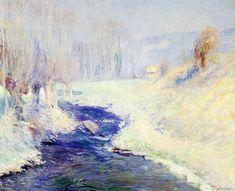 Guy Rose (1867-1925) - Winter