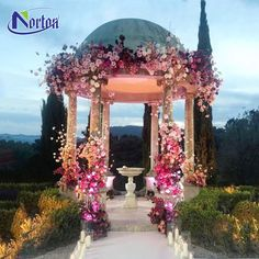 3 Types of Outdoor Wedding Decoration You can choose to design your wedding with an outdoor wedding decoration gazebo, or you can have a traditional outdoor wedding with an indoor gazebo. Wedding Ceremony Ideas, Gazebo Wedding Decorations, Indoor Wedding Ceremonies, Wedding Arch Flowers, Wedding Altars, Outdoor Wedding Venues, Wedding Gazebo, Dream Wedding, Trendy Wedding