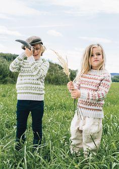 Fine gensere fra Sandnes garn.