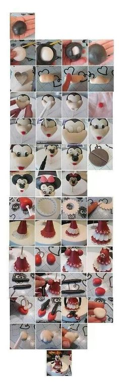 Minnie Mouse tutorial