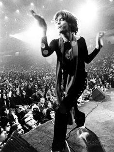 Gimme Shelter, Mick Jagger, 1970 写真