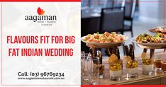 Dreaming of a wedding extravagance? We can help you by pulling off a spectacular soiree! With exquisite Indian cuisine presented in an impressive manner, we will ensure your wedding gets inked in everyone's memory. #indianrestaurant #nepalirestaurant #indiancuisine indianrestaurantinmelbourne #indianweddingcatering