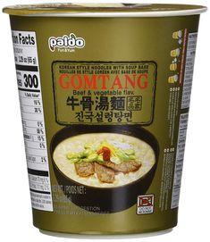 Paldo Gomtang Noodles, Packages (Pack of Korean Beef Soup, Noodle Bowls, Gourmet Recipes, Vegetables, Food, Noodles, Essen, Vegetable Recipes, Meals