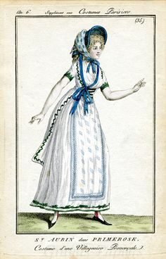 Undated, but this looks similar to other 1790's fashion plates, so that's what I'm thinking...