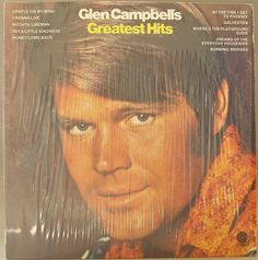 GLEN CAMPBELL Greatest Hits 1971 Fabulous album!  This vinyl is in Near Mint condition- it plays beautifully! The cover is also in Near Mint condition, still has factory plastic on it with minor scuffing at the edge.