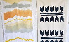 Poppytalk: DIY : Print Your Own Fabric