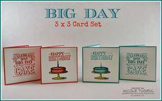 Be Creative with Nicole: Big Day!