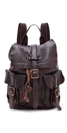 $306.00 ONE by Shiloh Leather Backpack