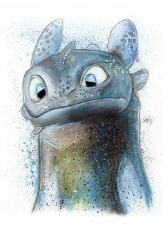 Toothless ~ HTTYD fan art | by LukeFielding on DeviantArt