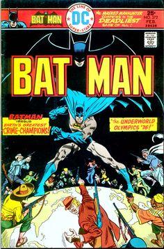 Batman #272, February 1976, Pencils/Inks: Jose Luis Garcia-Lopez, Colors: Tatjana Wood